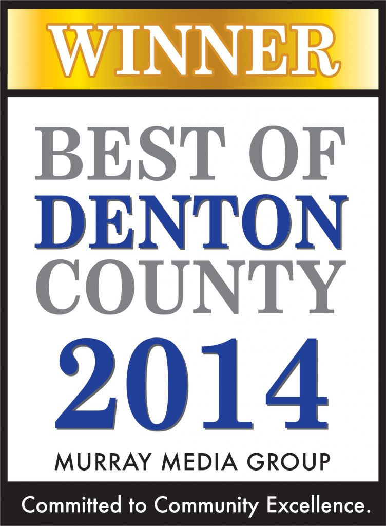 Best of Denton County 2014 Award