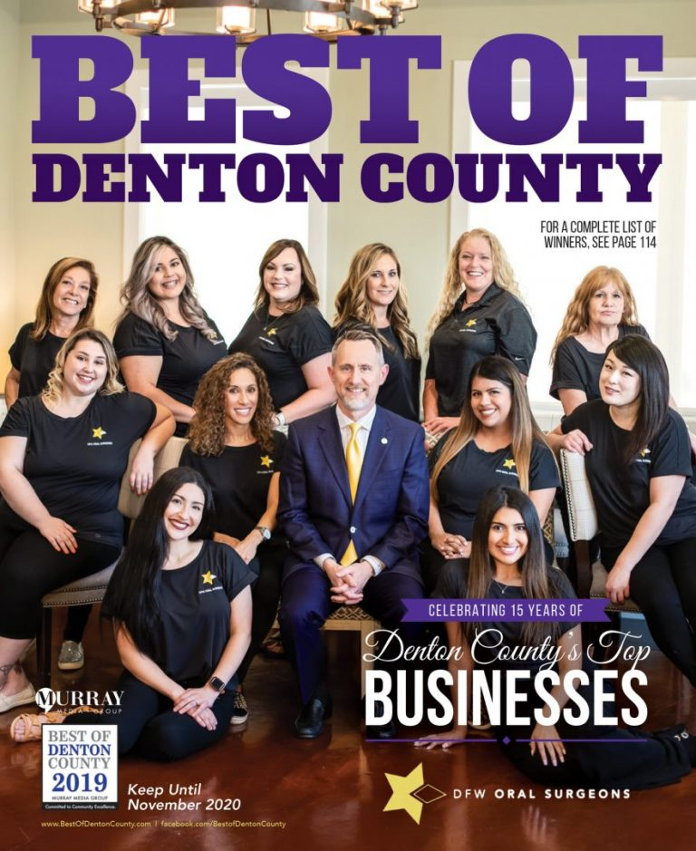 Best of Denton County 2019 Cover